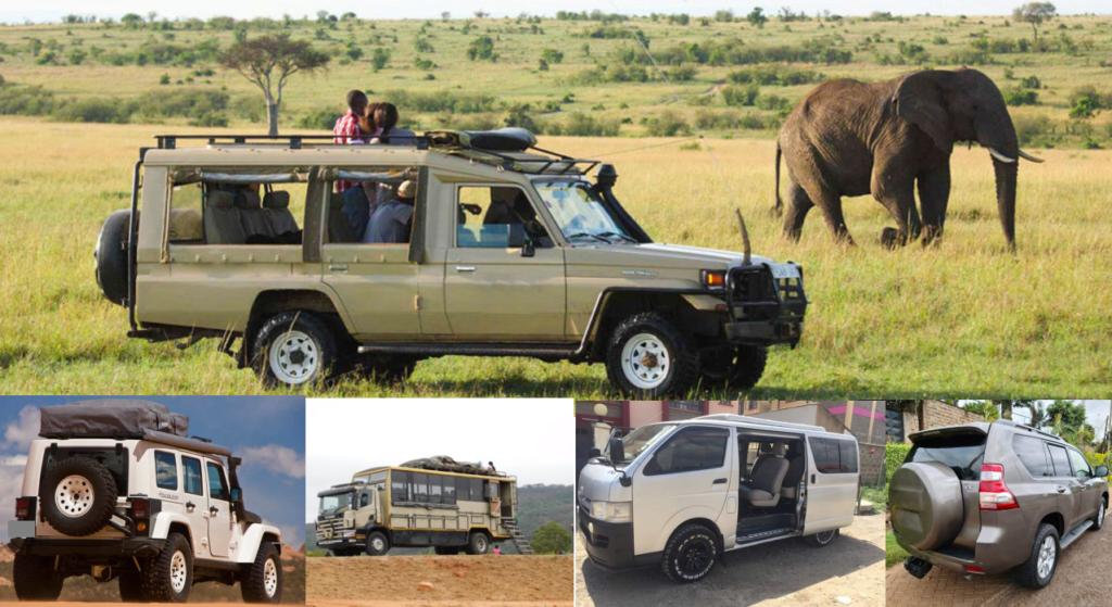 4x4 Car Hire for Safari Nairobi Kenya